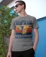 Saxophone Classic T-Shirt apparel-classic-tshirt-lifestyle-17