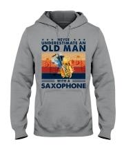 Saxophone Hooded Sweatshirt tile