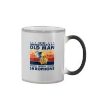 Saxophone Color Changing Mug tile