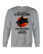 08 piano old man tbn Crewneck Sweatshirt tile