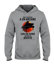 08 piano old man tbn Hooded Sweatshirt tile