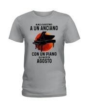 08 piano old man tbn Ladies T-Shirt tile