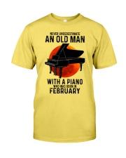 02 piano never old man Premium Fit Mens Tee tile