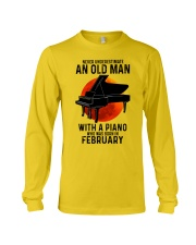 02 piano never old man Long Sleeve Tee tile