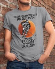 hockey old man 01 Classic T-Shirt apparel-classic-tshirt-lifestyle-26