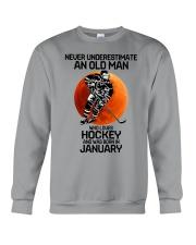 hockey old man 01 Crewneck Sweatshirt tile