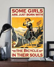 Cycling Girl Poster 24x36 Poster lifestyle-poster-2