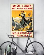 Cycling Girl Poster 24x36 Poster lifestyle-poster-7