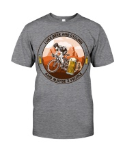 i like beer cycling Classic T-Shirt tile