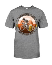 i like beer cycling Premium Fit Mens Tee tile