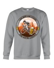 i like beer cycling Crewneck Sweatshirt tile