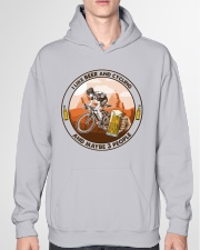 i like beer cycling Hooded Sweatshirt garment-hooded-sweatshirt-front-04