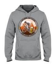 i like beer cycling Hooded Sweatshirt tile