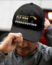 hat parachuting old man Embroidered Hat garment-embroidery-hat-lifestyle-01