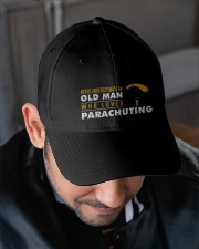 hat parachuting old man Embroidered Hat garment-embroidery-hat-lifestyle-02