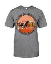 i like beer Harness racing Classic T-Shirt tile