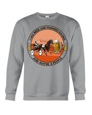 i like beer Harness racing Crewneck Sweatshirt tile