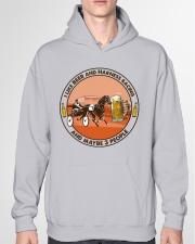 i like beer Harness racing Hooded Sweatshirt garment-hooded-sweatshirt-front-04
