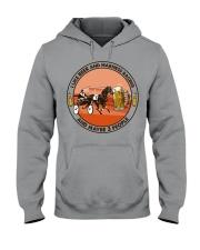 i like beer Harness racing Hooded Sweatshirt tile