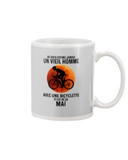 05 Cycling Old Man France Mug tile