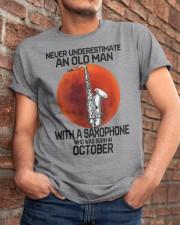 saxophone old man 10 Classic T-Shirt apparel-classic-tshirt-lifestyle-26