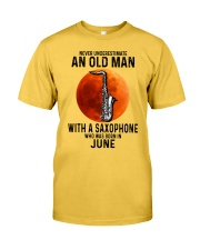 06 sax olm yl Classic T-Shirt front