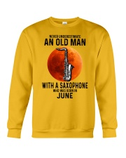 06 sax olm yl Crewneck Sweatshirt tile