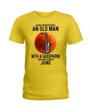 06 sax olm yl Ladies T-Shirt tile