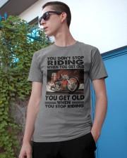 motorcycle drag racing riding Classic T-Shirt apparel-classic-tshirt-lifestyle-17