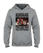 motorcycle drag racing riding Hooded Sweatshirt tile