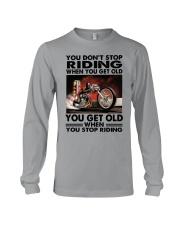 motorcycle drag racing riding Long Sleeve Tee tile