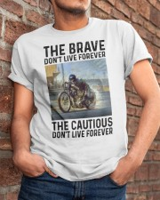 motorcycle dc The Brave Classic T-Shirt apparel-classic-tshirt-lifestyle-26