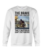 motorcycle dc The Brave Crewneck Sweatshirt tile