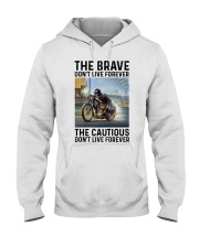 motorcycle dc The Brave Hooded Sweatshirt tile