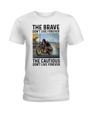 motorcycle dc The Brave Ladies T-Shirt tile