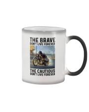motorcycle dc The Brave Color Changing Mug tile