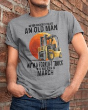 03 forklift truck old man color Classic T-Shirt apparel-classic-tshirt-lifestyle-26
