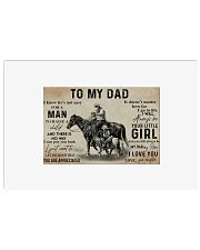 Horse to my dad poster 36x24 Poster front