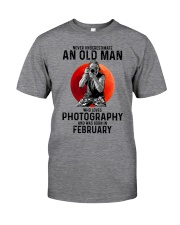 2 photography old man Classic T-Shirt front
