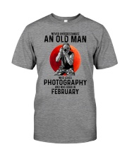 2 photography old man Premium Fit Mens Tee tile