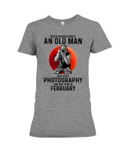 2 photography old man Premium Fit Ladies Tee tile