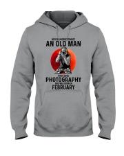 2 photography old man Hooded Sweatshirt tile