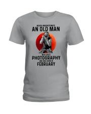 2 photography old man Ladies T-Shirt tile