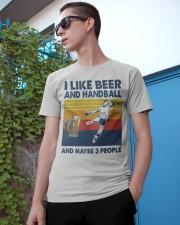 Handball I Like Beer Classic T-Shirt apparel-classic-tshirt-lifestyle-17