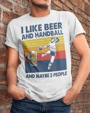 Handball I Like Beer Classic T-Shirt apparel-classic-tshirt-lifestyle-26