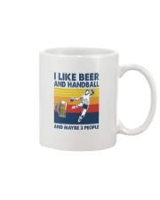 Handball I Like Beer Mug tile