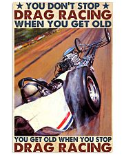 Drag racing you dont stop 24x36 Poster front