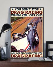 Drag racing you dont stop 24x36 Poster lifestyle-poster-2