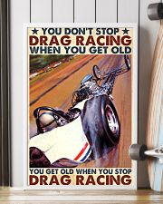 Drag racing you dont stop 24x36 Poster lifestyle-poster-4
