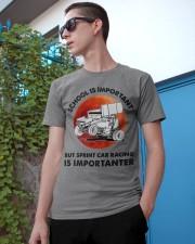 red school-sprint car racing Classic T-Shirt apparel-classic-tshirt-lifestyle-17